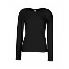 Lady - Fit Long Sleeve Crew Neck T