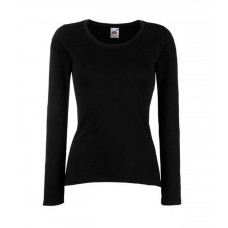 Lady Fit Valueweight Long Sleeve T  (IA)