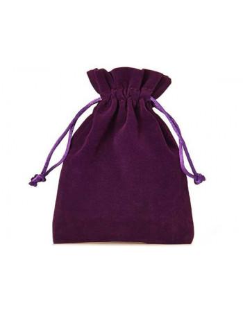 Dāvanu maisiņš no samta 23 x 15 cm